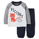 Just One You™ Made by Carter's® Toddler Boys Tiger 2-Piece Pant Set - Brown 2T