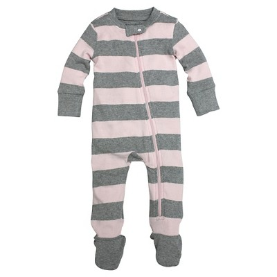 Footed Sleepers Burt's Bees 0-3 M Blossom