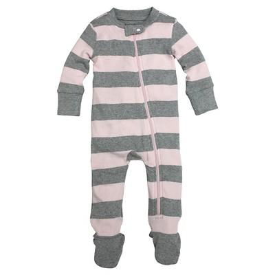 Burt's Bees Baby™ Baby Stripe Sleeper - Blossom 6-9 M