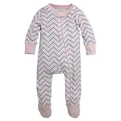 Burt's Bees Baby™ Baby Chevron Bee Sleeper - Pink 3-6 M
