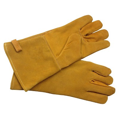 Pleasant Hearth Fireplace Gloves-Brown