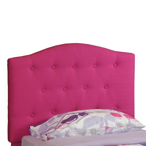 Powell Tufted Kids Headboard - Pink (Twin) product details page