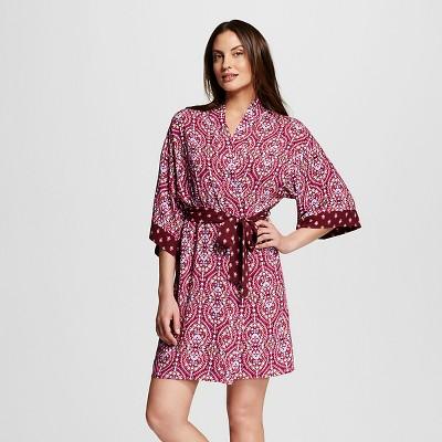 Women's Sleepwear Printed Robe Berry Scroll M/L - Gilligan & O'Malley®