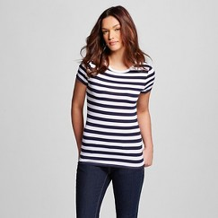 Women's Ultimate Striped Crew Tee - Merona™