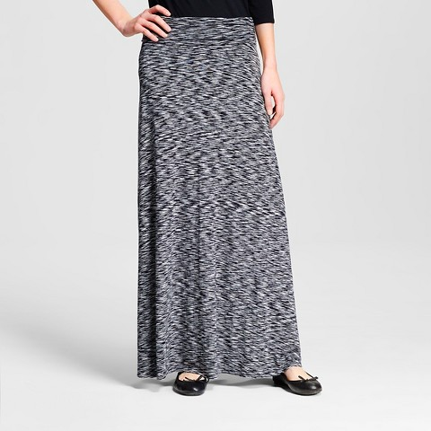 s space dye maxi skirt merona target
