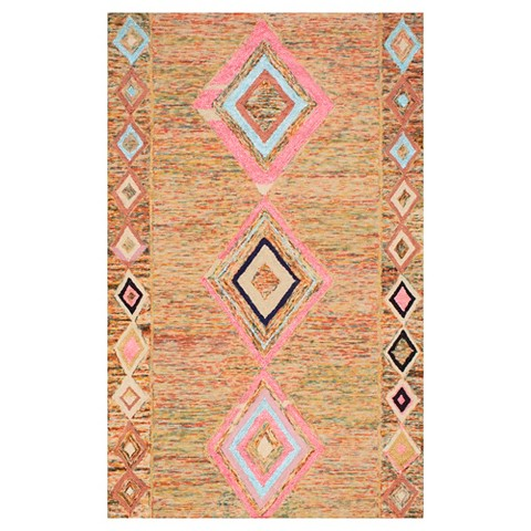 Nuloom hand tufted bokja rug target for Living room rugs target