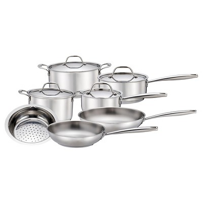 Threshold™ 11 pcs Stainless Steel Cookware Set