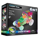 Laser Pegs 6 in 1 Tractor Lighted Construction Toy