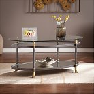 Southern Enterprises Allesandro Accent Table Collection