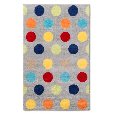 "Pillowfort Dots Accent Rug - Multi (48"" x 66"")"