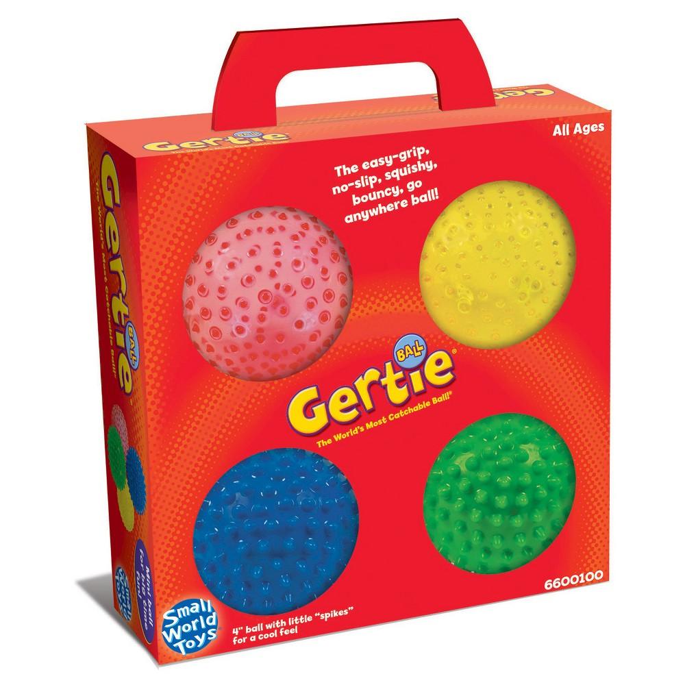 Small World Toys Mini Bumpy - 4 Balls in a Box, Multi-Colored