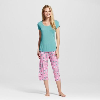 Nite Nite Munki Munki® Ice Cream Cones Pajama Set Pink L