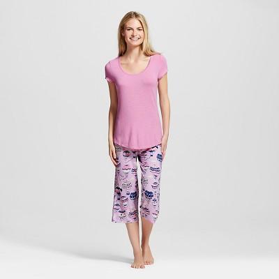 Nite Nite Munki Munki® Hot Air Balloons Pajama Set Pink L