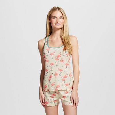 Nite Nite Munki Munki® Flamingos Pajama Set Cream L