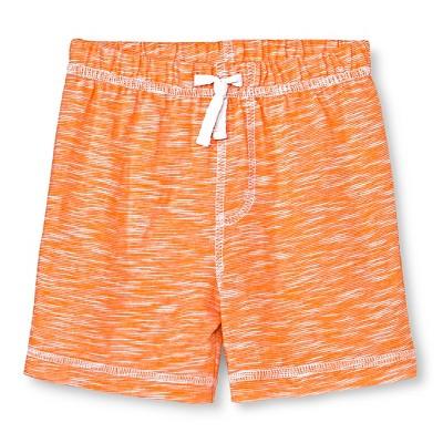 Circo™ Baby Boys' Basic Slub Short - Fresh Tangerine 0-3 M