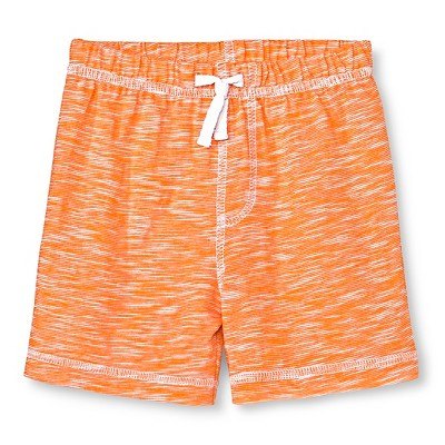 Circo™ Baby Boys' Basic Slub Short - Fresh Tangerine 12 M