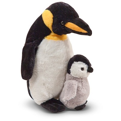 Melissa & Doug® Webber Penguin with Baby - Plush