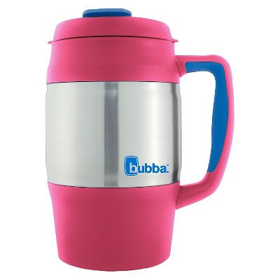 Bubba 34oz Stainless Steel Desk Mug - Paradise Pink
