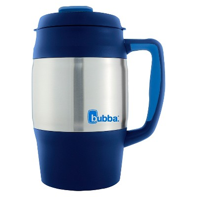 Bubba 34oz Stainless Steel Desk Mug - Sneaky Blue