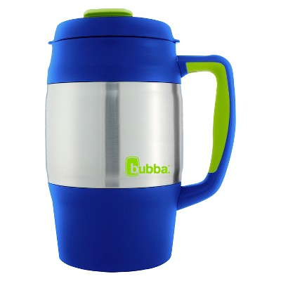 Bubba 34oz Stainless Steel Desk Mug - Blue Ribbon