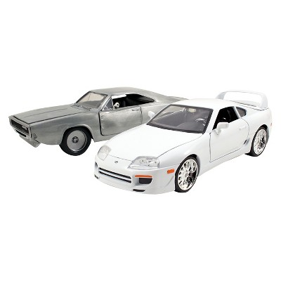 Fast & Furious 1:24 Diecast Twin Pack - 1995 Toyota Supra & 1968 Dodge Charger