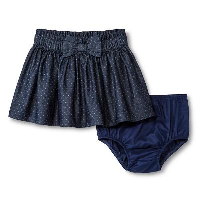 Baby Girls' Polka Dots Mini Skirt Blue 12M - Genuine Kids from Oshkosh™