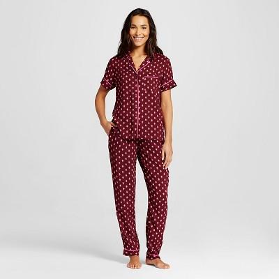 Women's Sleepwear Soft Pajama Set Berry Print S - Gilligan & O'Malley™