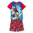 LEGO® Boys' Sleep T-Shirt and Short Set Red