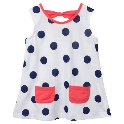 Gerber® Toddler Girls' Polka Dots Tunic - White 24 M