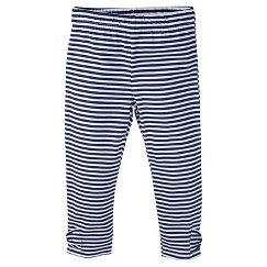 Gerber® Toddler Girls' Stripe Legging Pant - Blue