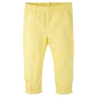 Gerber® Toddler Girls' Legging Pant - Yellow 24 M