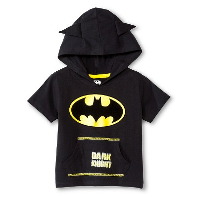 Batman™ Baby Boys' Hooded Costume Tee - Black 18 M