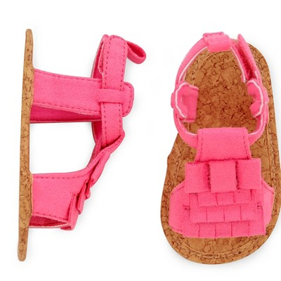 Just One You™Made by Carter's® Newborn Girls' Fringe Sandal - Pink NB