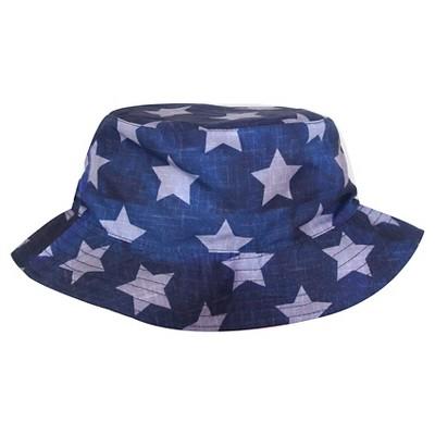 Star Printed Bucket Hat Navy OSFM - Cherokee®