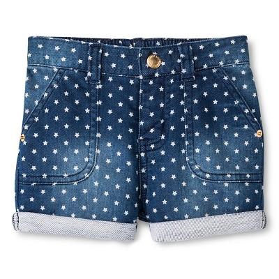 Baby Girls' Star Wash Jean Shorts 18 M - Genuine Kids from Oshkosh™
