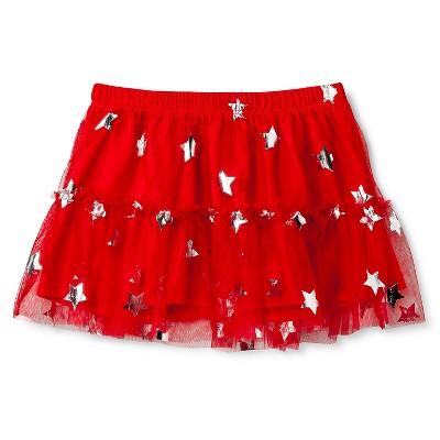 Baby Girls' Star Tutu Skirt Red 12M - Circo™