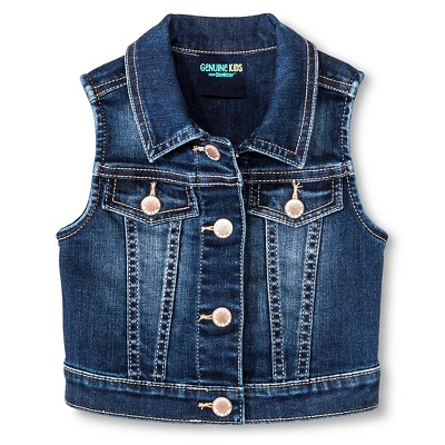 Baby Girls' Vest Blue 12M - Genuine Kids from Oshkosh™