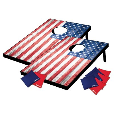Wild Sports Stars & Stripes Tailgate Toss Cornhole Set