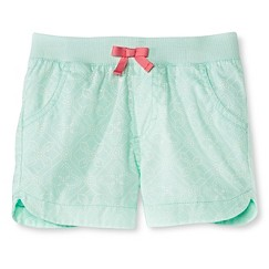 Toddler Girls' Twill Chino Short Green - Cherokee®