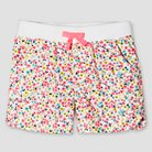 Toddler Girls' Twill Floral Chino Short Multi-Floral 6 - Cherokee®