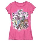 Girls' Monster High Tee - Pink L Plus