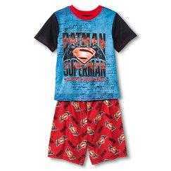 Boys' Batman vs Superman Pajama Set - Blue/Red