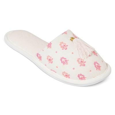 Women's Slippers White Print S - Gilligan & O'Malley™
