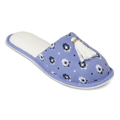 Women's Slippers Blue Print M - Gilligan & O'Malley™