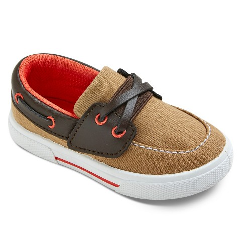 Toddler Boys Just e You™ Cameron Boat Shoes Tar