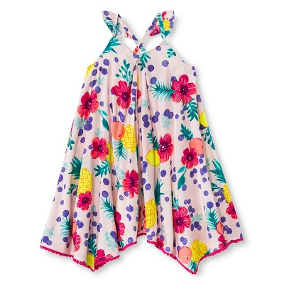 Baby Girls' Floral Maxi Pink 18M - Cherokee®