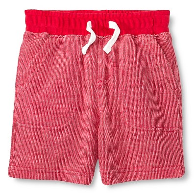 Male Lounge Shorts Cherokee Chili Pepper Red 12  MONTHS