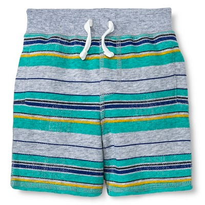 Male Lounge Shorts Cherokee Heather Grey 12  MONTHS