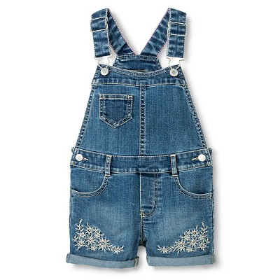 Baby Girls' Shortall Medium Wash 12M - Genuine Kids