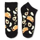 Women's Low-Cut Socks 1-Pack Taco Party Black 4-10 - Xhilaration™
